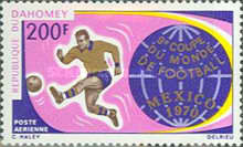 [Airmail - Football World Cup - Mexico, Typ IS]