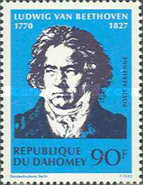 [Airmail - The 200th Anniversary of the Birth of Ludwig von Beethoven, 1770-1827, Typ JJ]