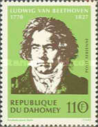 [Airmail - The 200th Anniversary of the Birth of Ludwig von Beethoven, 1770-1827, Typ JJ1]