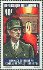 [Charles de Gaulle, 1890-1970 - Airmail, Typ JP]