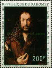 [Airmail - The 500th Anniversary of the Birth of Albrecht Dürer, 1471-1528, Typ JU]