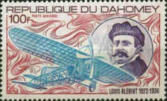 [Airmail - The 100th Anniversary of the Birth of Louis Bleriot, 1872-1936, Typ LC]
