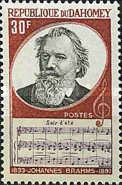 [The 75th Anniversary of the Death of Johannes Brahms, Typ LD]
