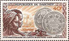 [West African Montetary Issue, Typ LM]