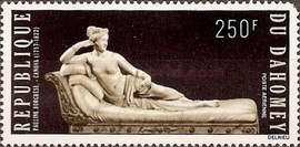 [Airmail - The 150th Anniversary of the Death of Antonio Canova, 1757-1822, Typ LN]