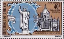 [Airmail - The 100th Anniversary of the Birth of St. Therese of Lisieux, Typ LW]