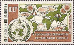 [Airmail - The 100th Anniversary of World Meteorological Organization, Typ MQ]