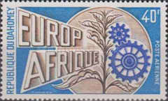 [Airmail - Europafrique, Typ MS]