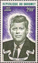 [Airmail - The 10th Anniversary of the Death of John F. Kennedy, 1917-1963, Typ MT]