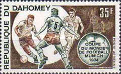 [Airmail - Football World Cup - West Germany 1974, Typ MU]
