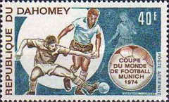 [Airmail - Football World Cup - West Germany 1974, Typ MV]