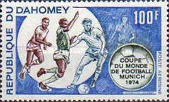 [Airmail - Football World Cup - West Germany 1974, Typ MW]