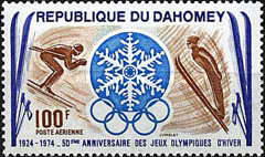 [Airmail - The 50th Anniversary of Winter Olympic Games, type NI]