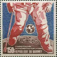 [Airmail - The 5th Anniversary of The First Manned Moon Landing, type NU]