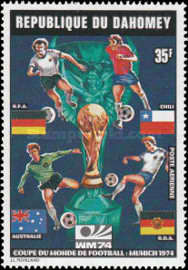 [Airmail - Football World Cup - West Germany, Typ NV]