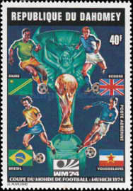 [Airmail - Football World Cup - West Germany, type NW]