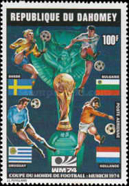 [Airmail - Football World Cup - West Germany, type NX]