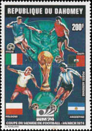 [Airmail - Football World Cup - West Germany, Typ NY]