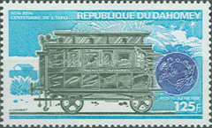 [The 100th Anniversary of Universal Postal Union, Typ OF]