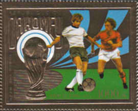 [Airmail - Football World Cup - West Germany, type ON]