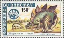 [Airmail - Prehistoric Animals, Typ OW]
