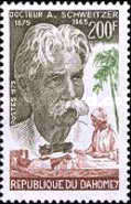 [The 100th Anniversary of the Birth of Albert Schweitzer, 1875-1965, Typ QH]