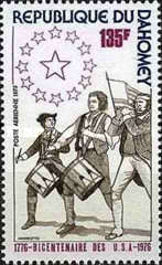 [Airmail - The 200th Anniversary of the Independence from the USA, Typ QM]