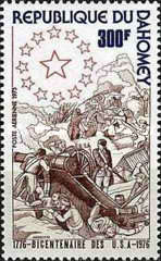 [Airmail - The 200th Anniversary of the Independence from the USA, Typ QN]