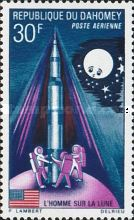 [Airmail - First Manned Moon Landing, Typ XIL]