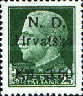 [Italian Postage Stamps Surcharged, Typ A2]