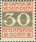 [Numeral Stamps, type B2]