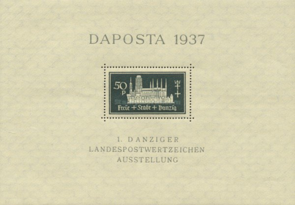[Philatelic Exhibition - DAPOSTA 1937, type ]