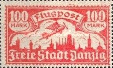 [Airmail - See Also No.57-62, type AG1]