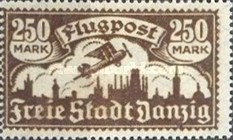 [Airmail - See Also No.57-62, type AG2]