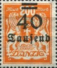 [Hyperinflation Overprints - Coat of Arms, type AL]