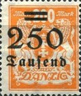 [Hyperinflation Overprints - Coat of Arms, Typ AL2]