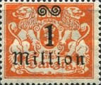 [Hyperinflation Overprints - Coat of Arms, Typ AO]