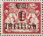 [Hyperinflation Overprints - Coat of Arms, Typ AO1]