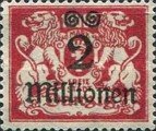 [Hyperinflation Overprints - Coat of Arms, Typ AO2]