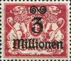 [Hyperinflation Overprints - Coat of Arms, type AO3]