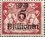 [Hyperinflation Overprints - Coat of Arms, Typ AO4]