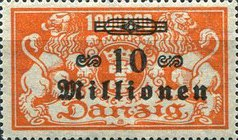 [Hyperinflation Overprints - Coat of Arms, type AP]