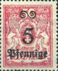 [Coat of Arms Surcharged, type AT]