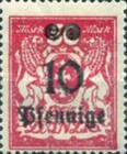 [Coat of Arms Surcharged, type AT1]