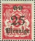 [Coat of Arms Surcharged, type AT3]