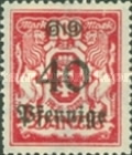[Coat of Arms Surcharged, type AT5]