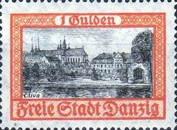 [City Views Stamps of 1924 in New Colors, type AW1]