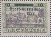 [Airmail Stamp Exhibition - City Views Stamps of 1924 Surcharged, type BF]
