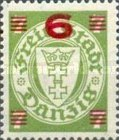 [Overprints on Coat of Arms, type BH]