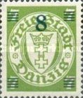 [Overprints on Coat of Arms, type BH3]